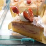 苺のスフレチーズ