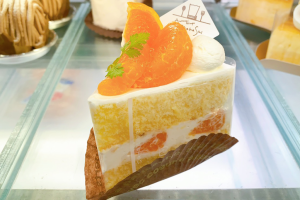 みかんのショートケーキ