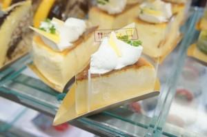 レモンのスフレチーズ