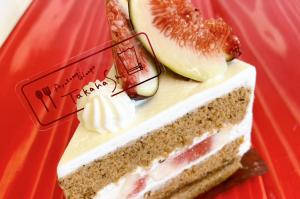 いちぢくのショートケーキ